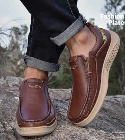 Dapper Casual Leather Loafers