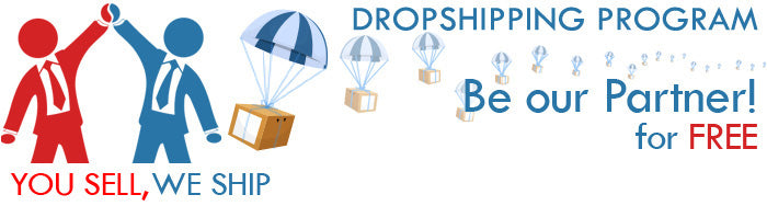 Dropshipping Program. Be our partner!