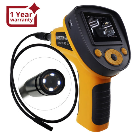 "C0599G_1M Industrial 2.4""Recordable Video Photo Endoscope Borescope Inspection Camera"