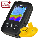 Ff-718Lic-W Lucky Rechargeable Colored Lcd Fish Finder Locator Detector With 100M (328Ft) Wireless