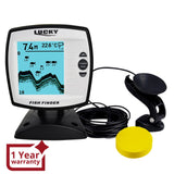 Ff-918N1 Lucky Fish Finder Depth Sounder Transducer 328Feet(100M) With 4-Level Grayscale Fstn Lcd