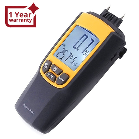 Va-8040 Moisture & Temperature Meter °C °F Wood Bricks Concrete Cement Lime Mortar Ce Marking Dual