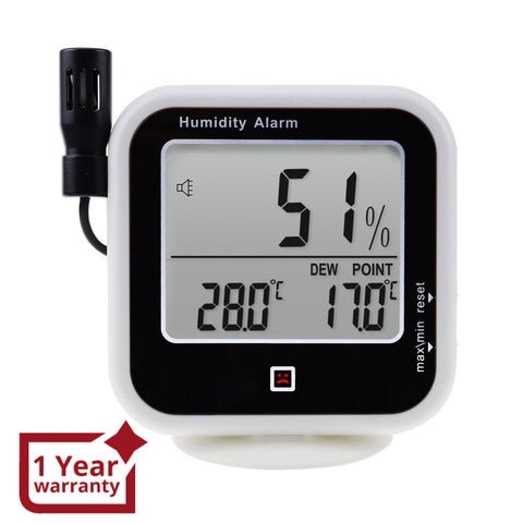 E04-019 Digital Indoor / Outdoor Thermo-Hygrometer Thermometer Measure Dew Point & Relative Humidity