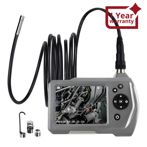 End-284_7.6Mm_3M Waterproof Inspection Camera Industrial Endoscope Borescope 7.6Mm 3 Meter Cable