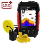 Ff-168Lic Lucky 2-In-1 Wired / Wireless Fish Finder Detector 100M 45M Depth Range 2 Languages