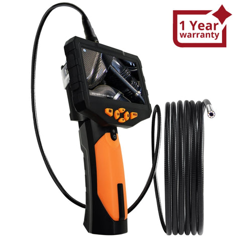 N04Nts300_5M Industrial Endoscope 5M Cable Borescope Video Inspection Hd Camera 4.3 Color Lcd