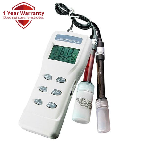 Orp-8651 3-In-1 Heavy Duty Ph Mv & Temperature Meter W/ Auto Buffer Recognition Water Quality Meters