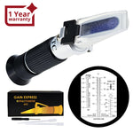 Rea-503Abatc 6-In-1 Automotive Car Refractometer Atc For Adblue/ Antifreeze/ Battery Acid/
