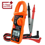 CLM-221 Smart Digital Clamp Meter Multimeter 6000 Counts Auto Scan Anti-burn Auto Range AC/DC Voltage ACA NCV Tester