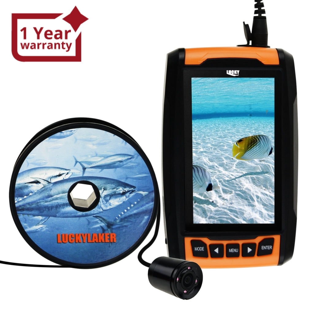 FF-180PR LUCKY Underwater Camera Fish Locator Finder 120° Wide Angle 20M  Cable Length 4 IR LED 4 3