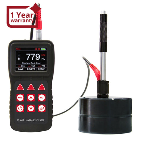 Mh600 Mitech 170960 Hld Chinese-English Portable 6 Impact Devices Ip65 Metal Leeb Hardness Tester