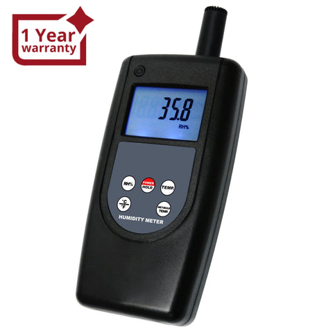 Ht-1292 Digital Humidity Temperature Meter Tester Indoor Outdoor 10~95%rh Temp -10~60 °C