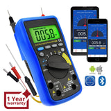Mul-212 Digital Dmm Bluetooth Multimeter With Ios & Android Mobile App Ac Dc Voltage Current Auto