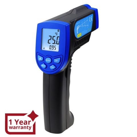 The-217 Non-Contact Lasergrip Infrared 12:1 Ds Thermometer Laser Temperature Gun -30 ~ 550°C (-22