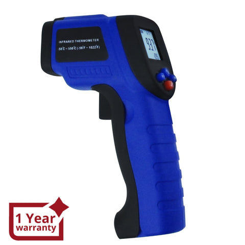 The-33 Non- Contact Infrared (Ir) Laser Thermometer Temperature Range -50~550°C (-58~1022°F)