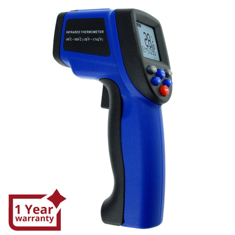 The-35 Infrared Ir Laser 12:1 Non-Contact -50~950°C / -58~1742°F Digital Thermometer Industrial