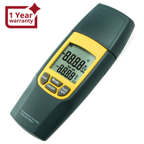 Va-8010 Digital Air Temperature Humidity Meter Thermometer °C / °F Tester W/ Dew Point Ce Marking
