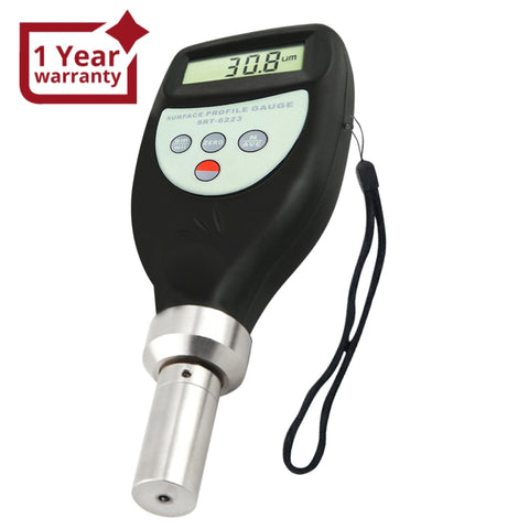 Srt-6223 Digital Surface Profile Gauge Roughness Tester Meter W/ 0~800 M Measuring Range