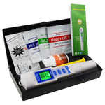 Wqm-241 Ph / Ec Temperature Meter Atc 3 In 1 Waterproof Pen Type Water Quality Combo Multi-Parameter