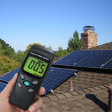 T206 Solar Power Meter Btu/(Ft2*h) W/m2 Radiation Energy Cell Tester Emf / Rf Elf Gauss