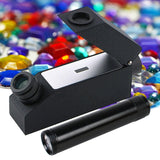 CL-181 1.30 ~ 1.81 RI Range Gemological Refractometer + Index oil Flashlight Polarizing Lens - Gain Express