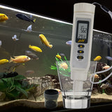 868-9 Waterproof Digital Ph Meter Tester Thermometer °C °F Replaceable Electrode Pentype Design