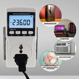 Pcm-282 Digital Power Meter Wattmeter Energy Consumption Watt Voltage Current Frequency Electricity