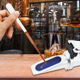 Rew-80Atc Alcohol Refractometer With Atc 0~80% Vol Volume Optical Handheld Concentration Tester