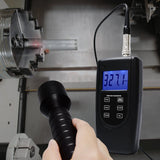 Vm-6370T Vibration Tachometer Meter Piezoelectric Sensor Contact Photo Rotation Rate Tester