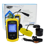 Ffc-1108-1 Lucky Portable Fish Finder Sonar Tn/ Anti-Uv Lcd Display With Clear Led Backlight For