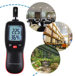 Htm-278 Digital Humidity And Temperature Meter Psychrometer Thermo-Hygrometer With Dew Point Wet