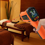 The-222 Non-Contact Infrared Ir Laser Thermometer K-Type Thermocouple -50~800°C / -58~1472°F Color
