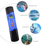 Ecm-226 3-In-1 Conductivity Ec & Ph Temperature Meter Multi-Parameter Tester Digital Pen Atc Water
