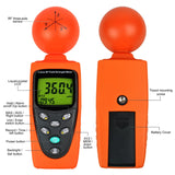 T95 Digital 3-Axis Emf Rf Radiation Electrosmog Power Meter Tester / Elf Solar Gauss
