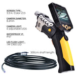 N04Nts-200_5M Detachable 3.5 Lcd Inspection Camera 8.2Mm Endoscope Borescope + 5M Cable