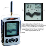 Ffw-718 Lucky Portable Wireless Fish Finder Locator With 45M (135Ft) Depth & 120M (400Ft) Range
