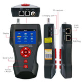 Nf-8601A Digital Cable Tester Wire Tracker Rj45 Rj11 Bnc Length With Free Tf Card Handheld 8 Remote