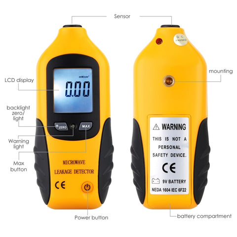 Professional Microwave Oven Leakage Radiation Detector