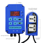 Ph-803 Digital Ph Orp Redox 2 In 1 Controller Monitor W/ Output Power Relay Control Electrode Probe