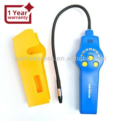 E03HLD-200 Handheld Halogen Leak Detector 305mm probe length Negative Corona Sensor Type with Dual-color LED Indicator - Gain Express