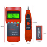 N03Nf-8208 Network Lan Cable Tester Wire Tracker Tracer Length Testers