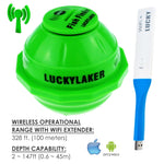 Ff-916_Ext Lucky Portable Wireless Wifi Fish Finder For Android & Ios 45M Depth 70M Range With 50M