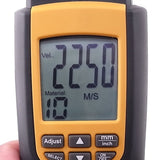 Va8041 Ultrasonic Thickness Meter Tester Gauge Measure 1.2~220 Mm Velocity Digital Lcd For Metal