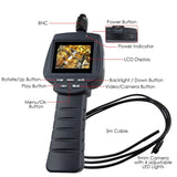 Vid-71R_9_3M Recordable Video Inspection Industrial Borescope 4 Led Pipe Car 9Mm Camera Scopes