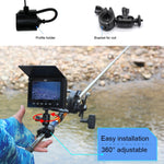 Ff-180Ar Lucky Underwater Camera Fish Locator Finder Sun-Visor Liftable Protective Cover 120° Wide