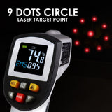 The-264 Lasergrip Non-Contact Digital Laser Infrared Gun Thermometer -50~750 (-58~1382) Ir Instant