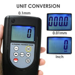 Tm-1240 Digital Ultrasonic Thickness Meter 0.75~400Mm For Material Measurement Testing Measuring