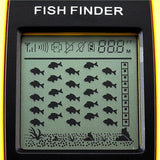 Ffw-1108-1 Lucky Dot Matrix Wireless Sonar Sensor Fish Finder With Audible Alarm & Backlight Depth