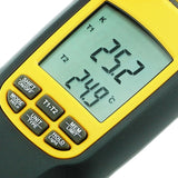 Va-8060 Digital K Or J Type Thermometer Thermocouple With 4 Probes Large Lcd Display Meter Tester
