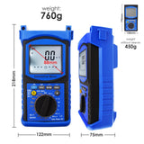 Eng-215 Digital Engine Analyzer Automotive Multimeter 6000 Counts - Dc Ac Voltage Current Resistance